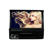 Ezonetronics 18cm slip down 1DIN Car Stereo FM only Bluetooth MP3 MP4 Player with USB SD CW9601