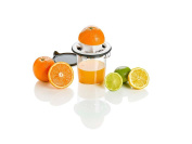 Lurch 221490 Citrus Juicer with Lid Plastic, Iron Grey, 12 x 12 x 17 cm