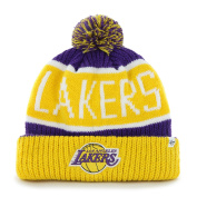 NBA Los Angeles Lakers '47 Brand Calgary Cuff Knit Hat with Pom