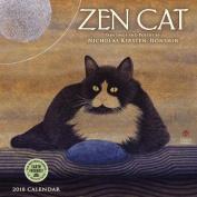 Zen Cat 2018 Mini Calendar