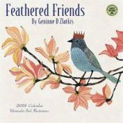 Feathered Friends 2018 Wall Calendar