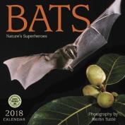 Bats 2018 Wall Calendar