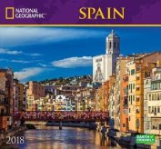National Geographic Spain 2018 Wall Calendar