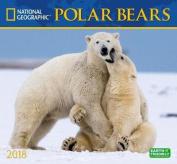 National Geographic Polar Bears 2018 Wall Calendar