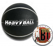 """HoopsKing Weighted Basketball with Training DVD, 28.""""2.3-1.2kg, 70cm - 2.3-1.2kg"""