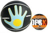 HoopsKing Skill Shooter Basketball w/ Training DVD, Basketball with Hand Placement