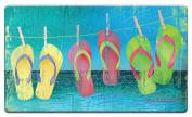Counter Art 'Day at the Beach' Anti Fatigue Floor Mat, 80cm x 50cm