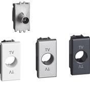 BTicino h4202p10 Axolute TV Socket Terminal, 10 dB, 1 m