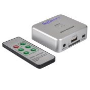 HopCentury Audio Capture Recorder with 3.5mm & RCA IN Ports, Remote Controlled Music Digitizer Record Any Audio as MP3 File