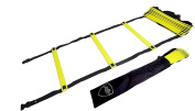 Pepup Sports Super Flat 12 Rungs Adjustable Speed Agility Ladder with Free Carry Bag, 6.1m