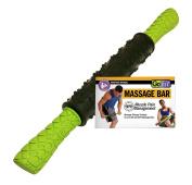 GoFit Extreme Massage Bar Black/Green