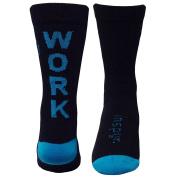 Inspyr Socks Work Hard Athletic Lifestyle Crew Socks