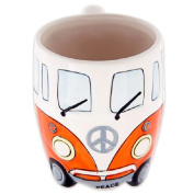 Volkswagen - Orange Ceramic Shaped Coffee Mug / Cup