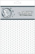 Ruby Rock-It Fundamentals A5 Vellum Sheets, 21cm by 15cm , Hearts, 12-Pack
