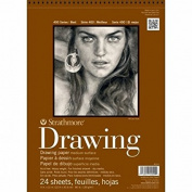 Strathmore Medium Drawing Spiral Paper Pad 9x12-24 Sheets
