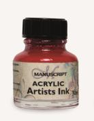 Manuscript Acrylic Artists Ink 30ml-Magenta