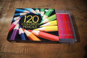 Hero 120 Coloured Pencils - Oil Pencils For Art Students & Professionals - Assorted Colours for Sketch Colouring Pages For Kids & Adults - Vibrant Colours For Drawing Books - Set of 120