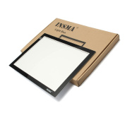 Tracing Light Pad, A4 Light Box, Art craft, Light Table, for Artist, Design, Animation, Drawing, Sketching, Facsimile, Training with Bag Clip Pencil Paper, by INSMA