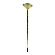 Princeton Artist Brush, Acrylic Syth Bristle 6250 Fan 4