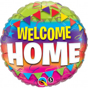 """Qualatex """"Welcome Home"""" Foil Party Balloon, 46cm"""