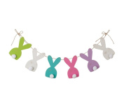 Rustic Easter Bunny Banner - Decoration for Home, Office or Party