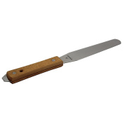 Natural Wood Handle Screen Ink Spatula, 15cm Blade For Screen Printing