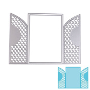 Arich Cutting Dies Stencil Metal Mould for DIY Scrapbook Album Paper Card--Door