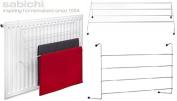 4 Bar Radiator Rack 2m Drying Space Plastic Coating Non-Slip Non Scratch Feet