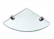 Abolos Floating Corner Glass Shelf
