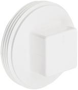 Spears P106 Series PVC DWV Pipe Fitting, Cleanout Plug, 7.6cm NPT Male
