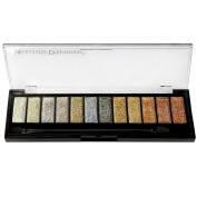 Measurable Difference 12 Glitter Eyeshadow Palette