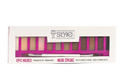 Style Studio Epic Nudes Eyeshadow Pallet with Premium Brush Included
