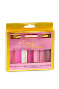 Risque Beaute Eyeshadow Pallet Blushing Nudes with Premium Brush Included