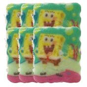 Spongeables 90ml, 10 Uses, SpongeBob SquarePants Body-Wash Infused Sponge - 6 Sponges