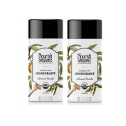 Nourish Organic Fresh and Dry Deodorant with Almond and Vanilla Extracts , 70ml