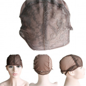 CXYP Lace Wig Caps For Making Wigs With Adjustable Strap Weaving Cap Tools Hairnets Glueless Wig Cap