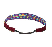 Cloverbug Fitness Headband - Party Dots - 1.6cm Wide