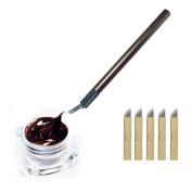 VANKER Microblading Permanent 3D Makeup Eyebrow Tattoo Needle Pen Pigment Kit
