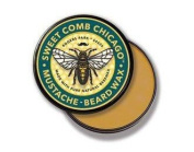 Sweet Comb Chicago Beeswax Moustache & Beard Wax