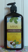Mina Shea Butter Shower Gel 530ml
