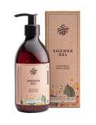 Natural Shower Gel Grapefruit & May Chang 300ml Irish Made