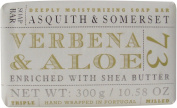 Asquith & Somerset Verbena Aloe Triple Milled Soap Bar