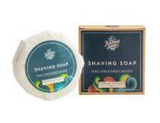 Shaving Soap Bar Basil Lime & Orange 110ml Irish Made