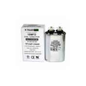 10 MFD 440 or 370 Volt Oval Run Capacitor Replacement TradePro 10 microfarads
