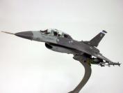 Lockheed Martin F-16 (F-16D) Fighting Falcon - 1/72 Scale Diecast Metal Model