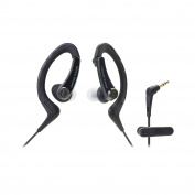 Audio-Technica ATH-SPORT1BK SonicSport In-Ear Headphones, Black