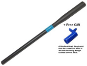 Snooker Cue Extension. Telescopic Push On Style + Q`Rite Rest Head