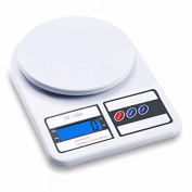 YOOKOON Digital Multifunction Kitchen and Food Scale,Multi-function Digital Kitchen Food Scale,Professonial Kitchen Scale, 22lb / 10Kg Capacity,Precise Cooking Scale,Baking Scale Elegant White