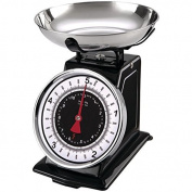 Starfrit 080211-003-0000 Retro Mechanical Kitchen Scales, Silver