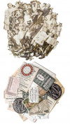 Tim Holtz Idea-Ology Paper Dolls Die-Cuts and Collector Layers Die-Cuts - 2 item bundle
